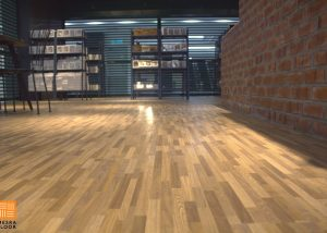 MesraFloor KBNK Vinyl Floor Installation